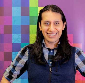 Moisés Villada, Associate Director of UIC's Gender and Sexuality Center (GSC)