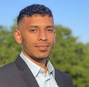 Aly Jamal, senior management major